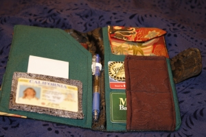 Passport Wallet Open