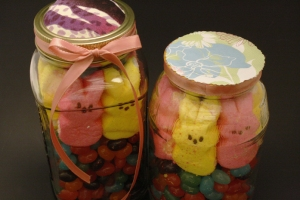 Peep Jelly Bean Arrangement